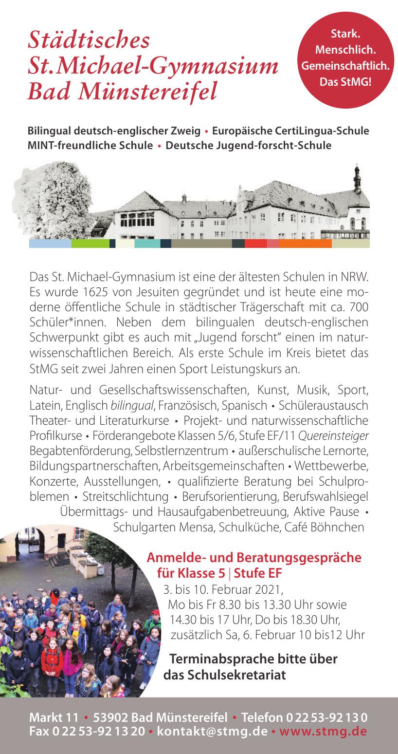 Städtisches St. Michael-Gymnasium Bad Münstereifel