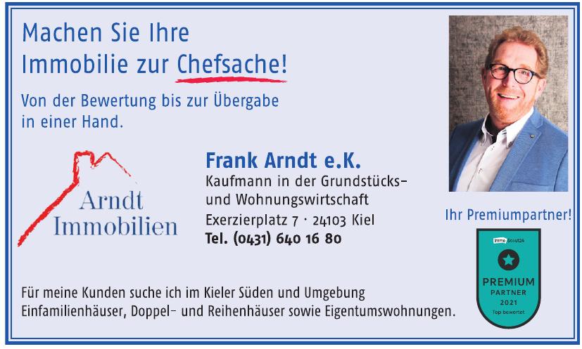 Arndt Immobilien - Frank Arndt e.K.