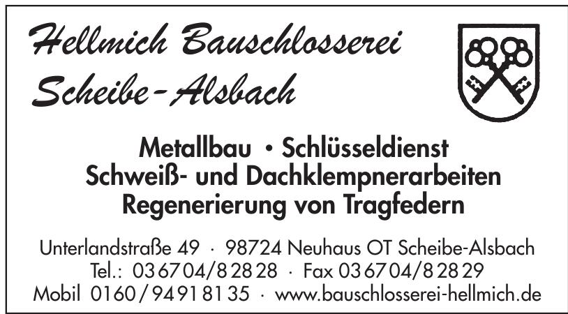 Hellmich Bauschlosserei Scheibe-Alsbach