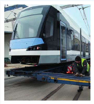 7. Februar 2018: Ankunft des ersten von zwölf Avenio-Zügen