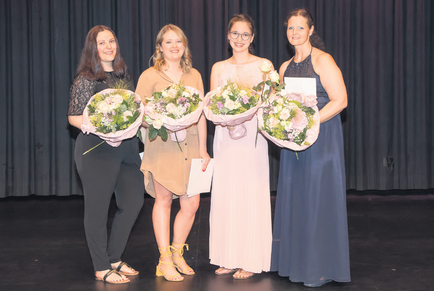 Diplomfeier der Medizinischen Praxisassistentinnen EFZ.