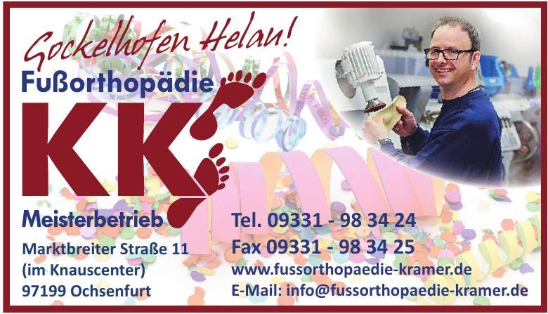 Fußorthopädie KK