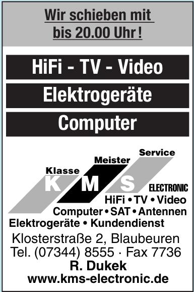 KMS Klasse Meister Service Elektronic