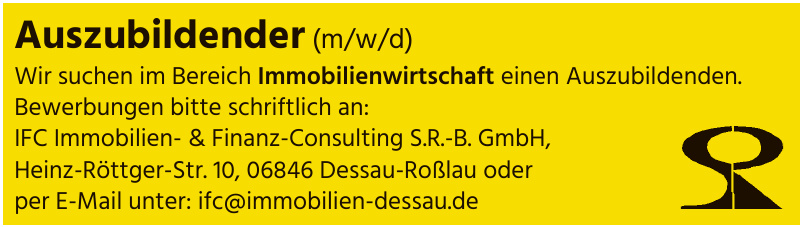 IFC Immobilien- & Finanz-Consulting S.R.-B. GmbH