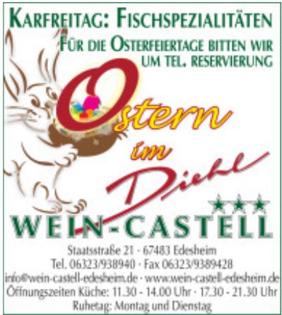 Hotel • Restaurant Wein-Castell