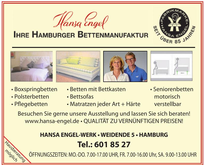 Hansa Engel Werk
