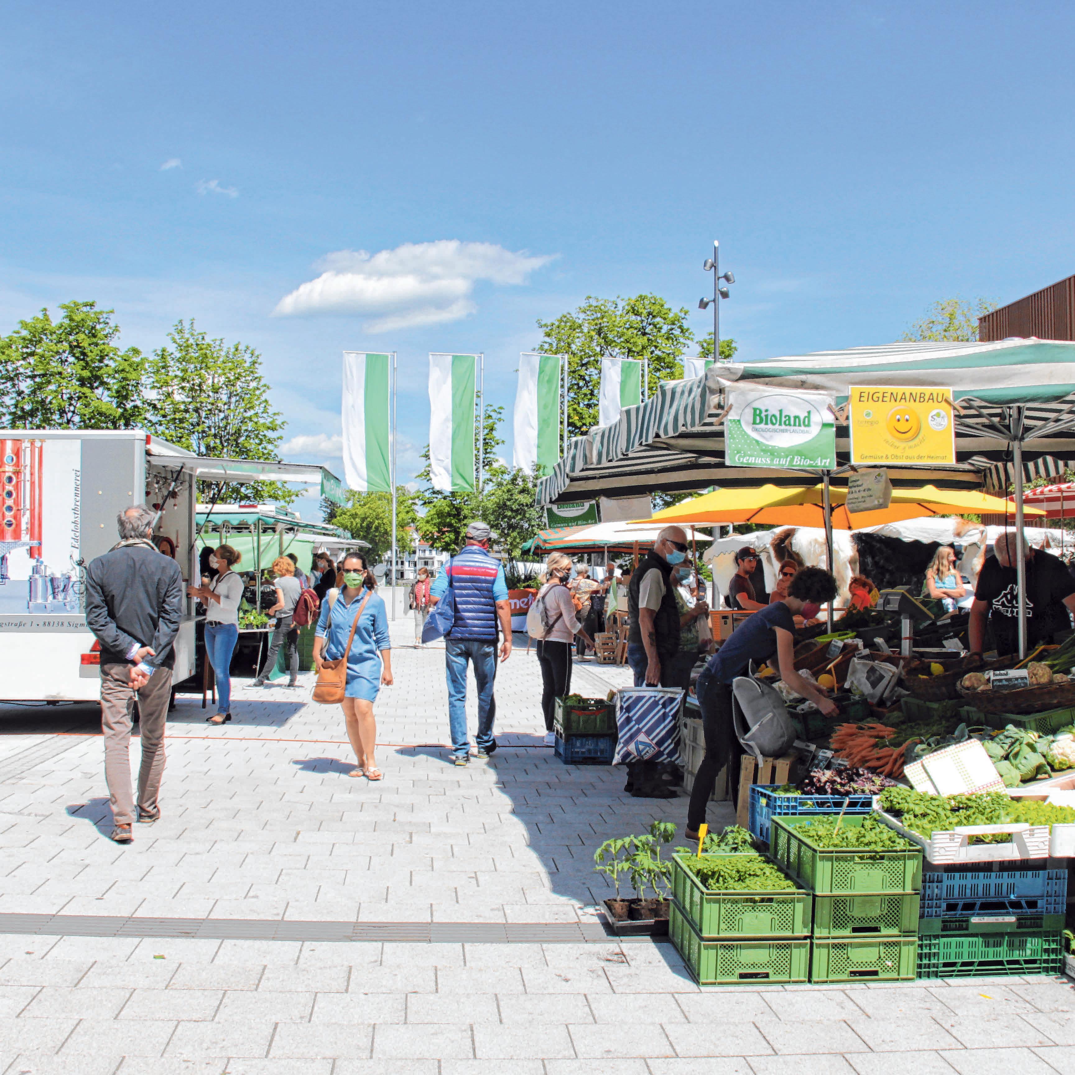 Lindauer Wochenmarkt an neuem Standort Image 1