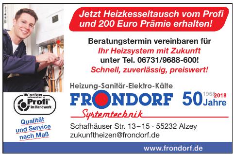 Frondorf Systemtechnik