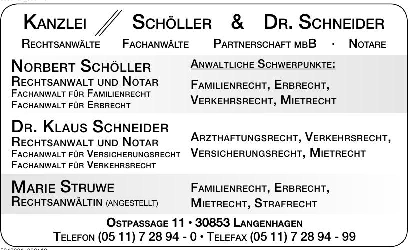 Kanzlei Schöller & Dr. Schneider