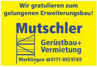Mutschler Gerüstbau & Vermietung