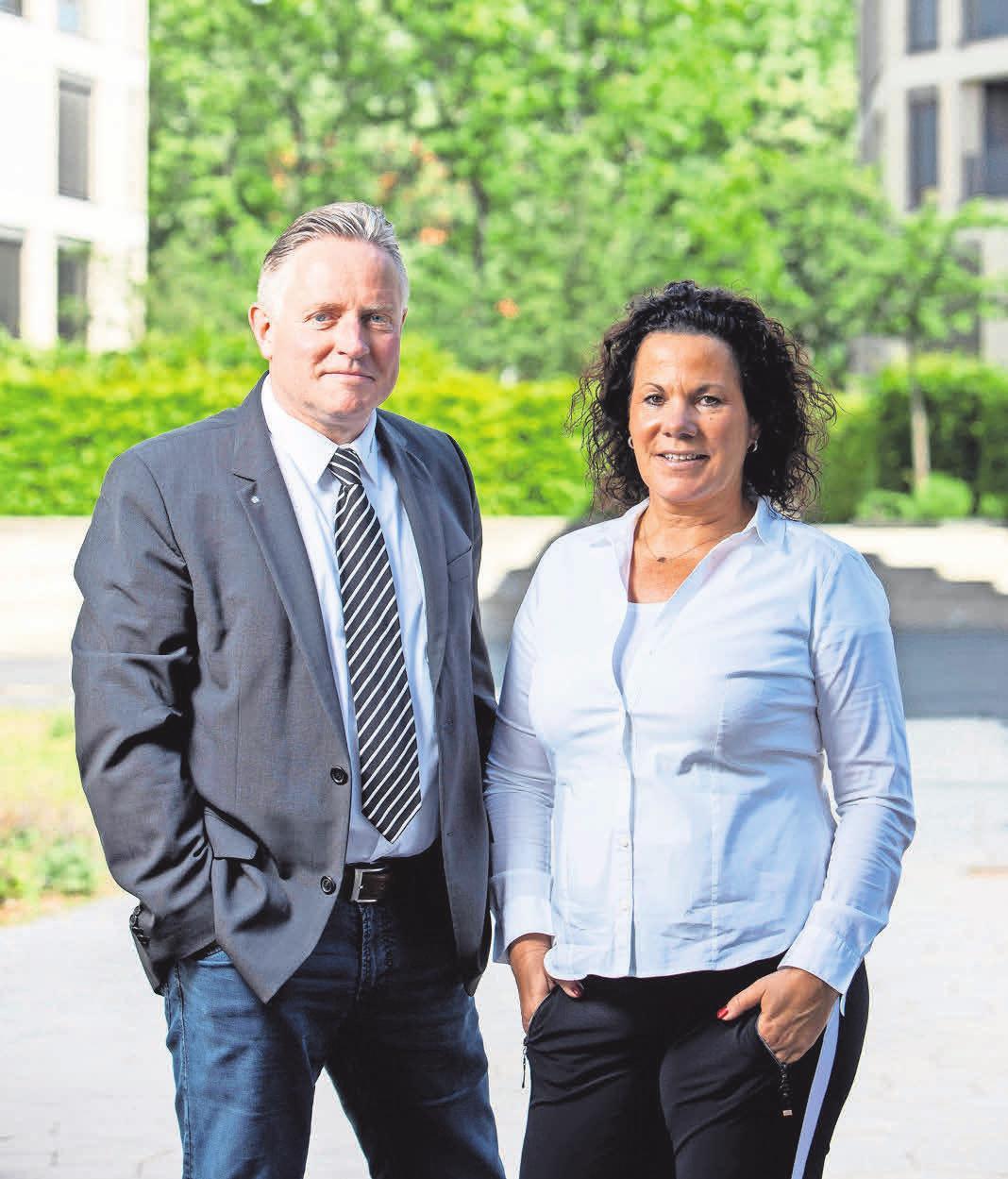 Anja Lentze-Jöcks und Torsten Jöcks führen gemeinsam das Unternehmen.