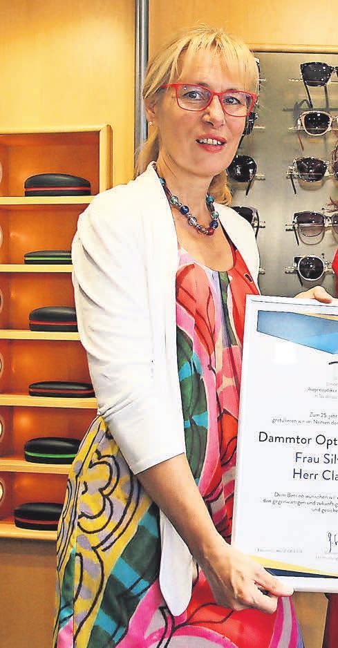 Dammtor Optik mit Inhaberin Silvia Krone an der Spitze des Teams ist ein mehrfach ausgezeichnetes Fachgeschäft. Foto: Privatarchiv