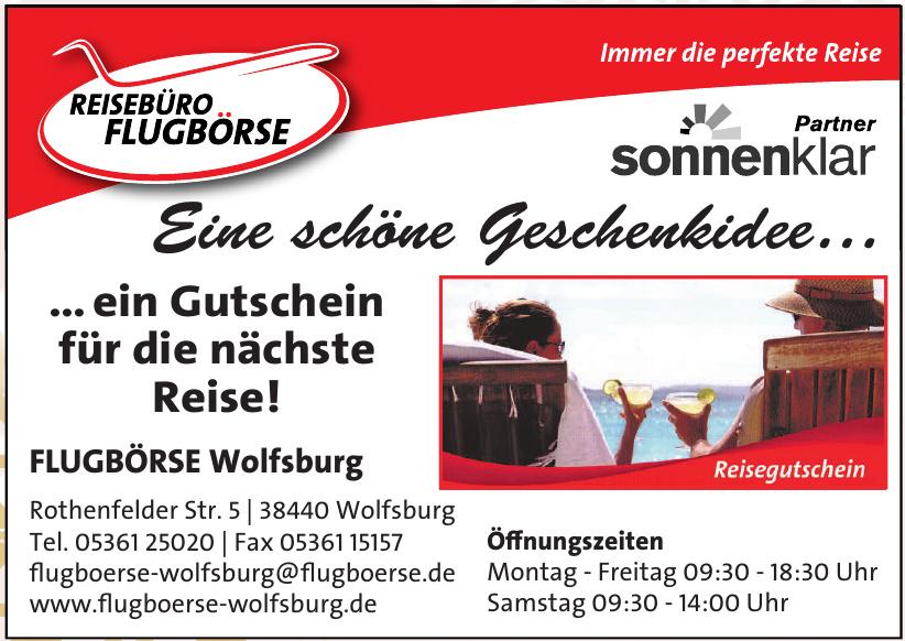 Reisebüro Flugbörse Wolfsburg