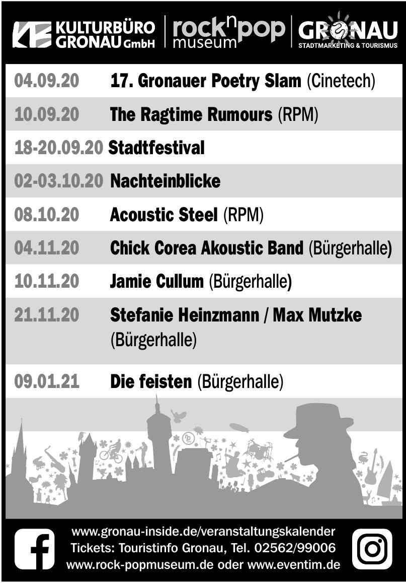 Touristinfo Gronau - 17. Gronauer Poetry Slam