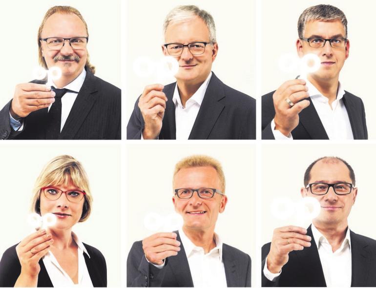 Foto v.l.n.r.: Andreas Wittig, Thomas Zentler, Bernd Barnikel, Reidin Schulz, Thomas Rudolph, Andreas Heinreich.