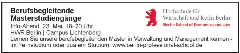 HWR Berlin - Campus Lichtenberg