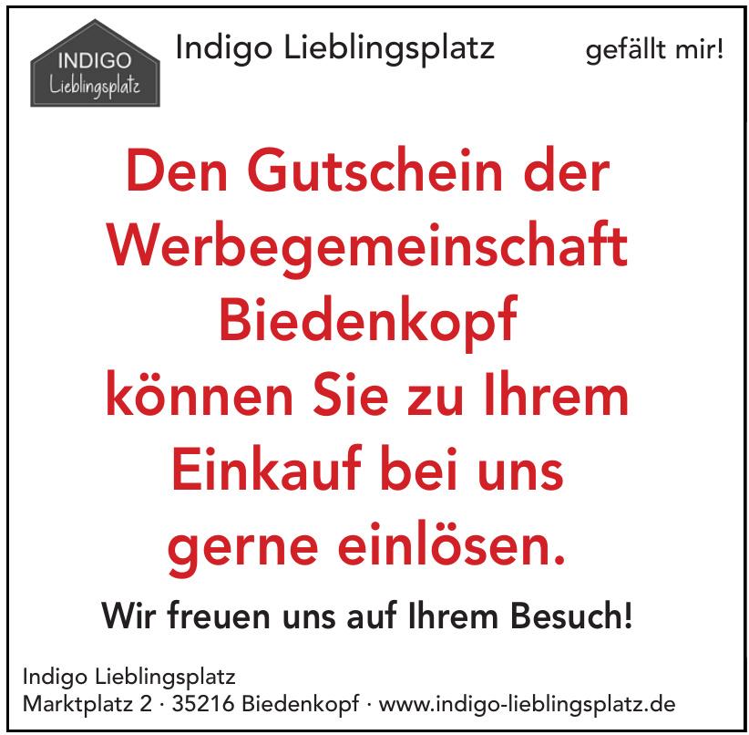Indigo Lieblingsplatz