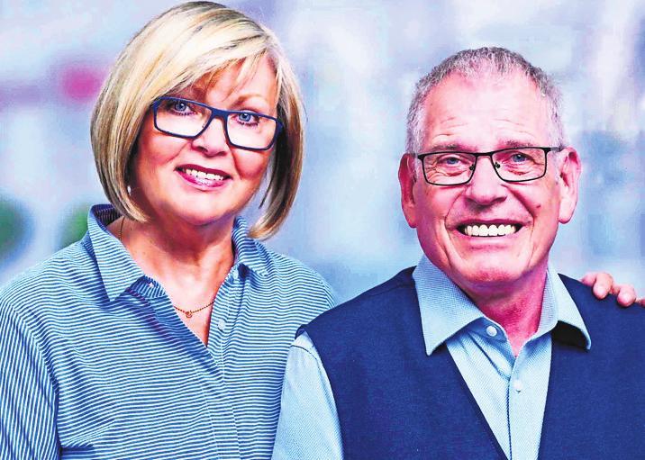 Ellen und Gerhard Herrmann.Foto: privat