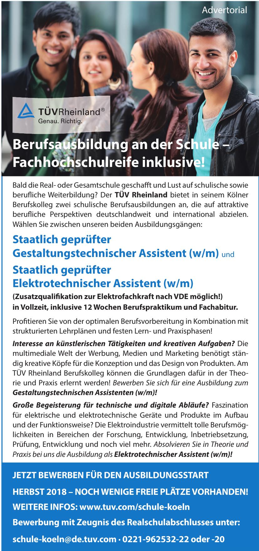 TÜV Rheinland - Kölner Berufskolleg