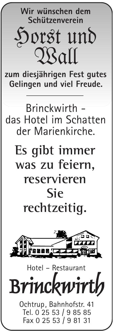 Hotel – Restaurant Brinckwirth