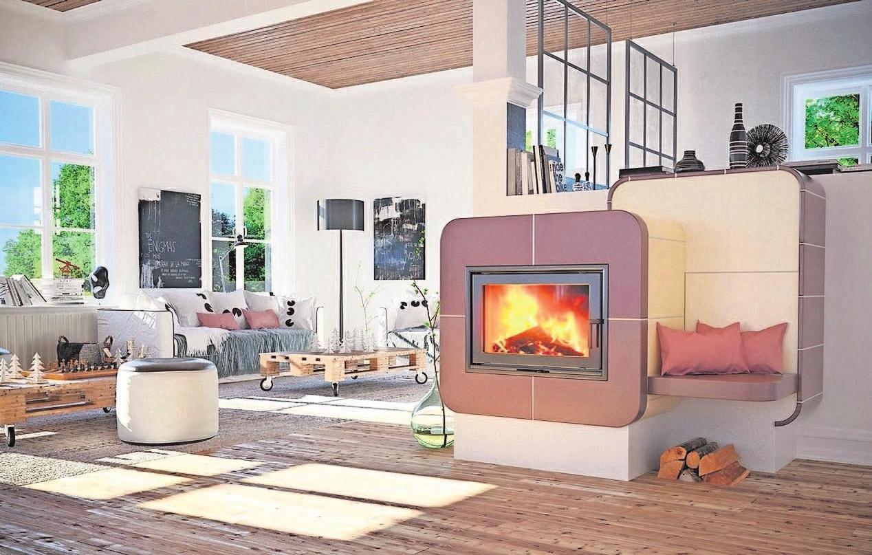 Für das persönliche Feuererlebnis gibt es vielfältige Möglichkeiten in Design und Technik. Der Fachmann hilft. Foto: AdK/www.kachelofenwelt.de/Zehendner/akz-d