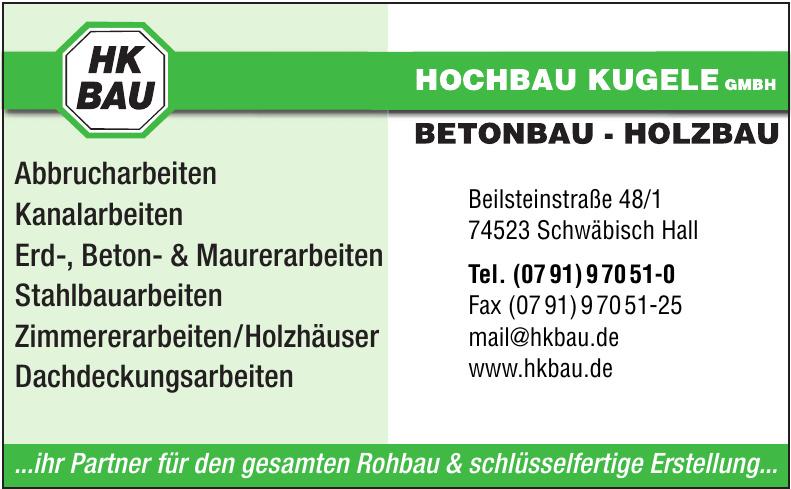 Hochbau Kugele GmbH