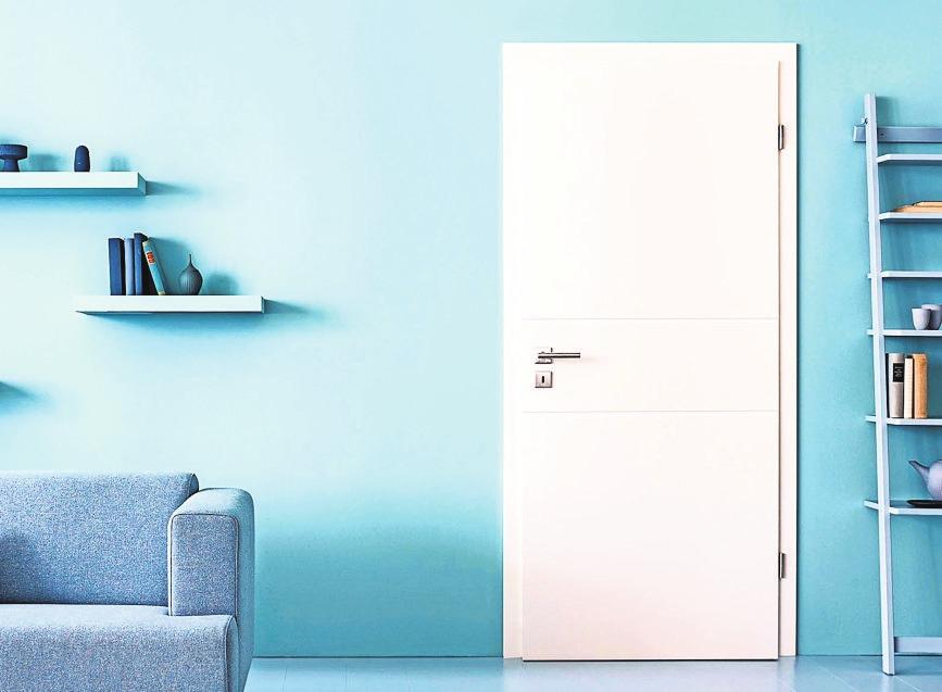 Weiß bleibt der Klassiker unter den Türenfarben – und passt zu jedem Einrichtungsstil. Foto: z/djd/GV Deutscher Holzhandel