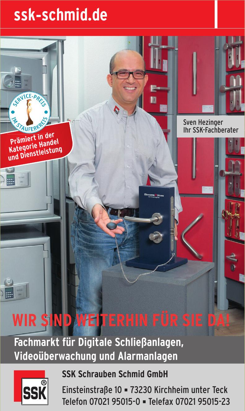 SSK Schrauben Schmid GmbH