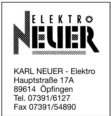 Karl Neuer-Elektro