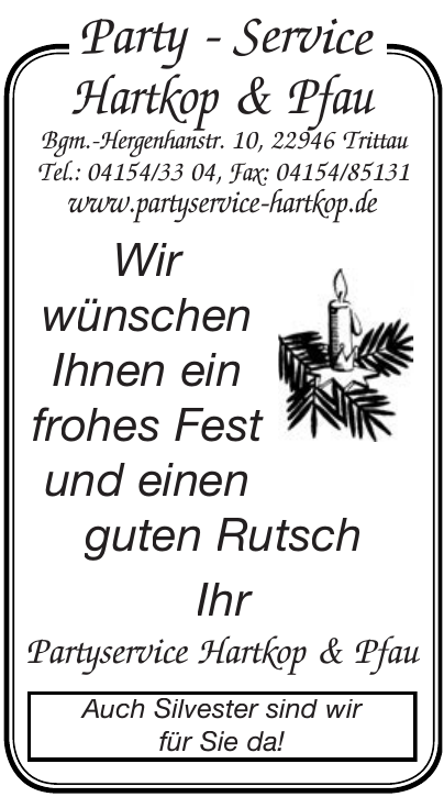 Party-Service Hartkop & Pfau