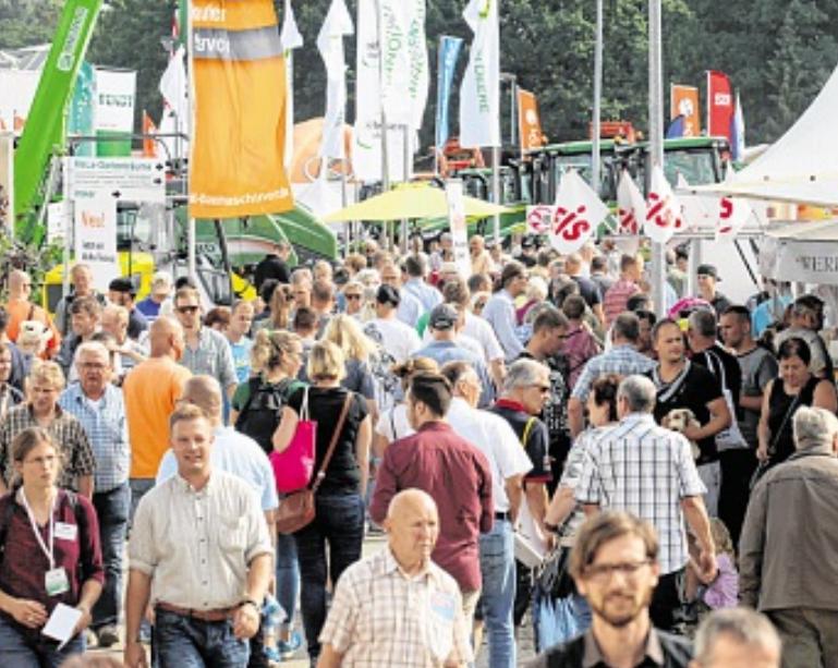 Rund 70 000 Besucher werden erwartet. FOTO: WÜSTNECK/DPA