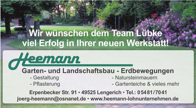 Heemann Garten- und Landschaftsbau - Erdbewegungen