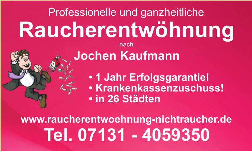 Raucherentwöhnung Jochen Kaufmann
