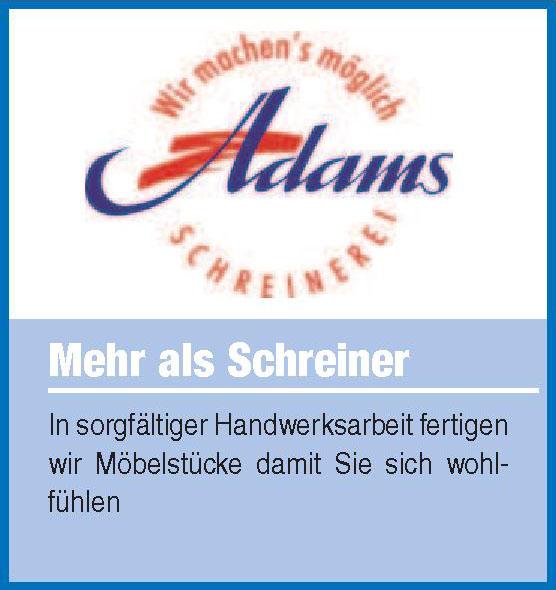 Schreinerei Adams