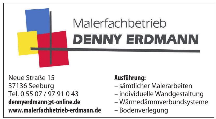 Malerfachbetrieb Denny Erdmann