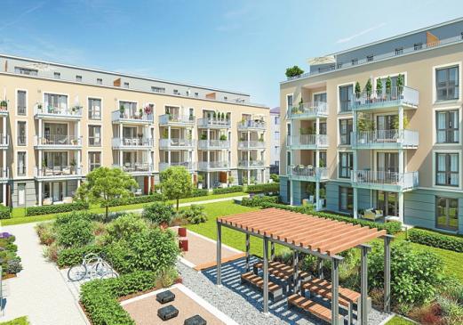 Alle verkauft: 110 Eigentumswohnungen im Neubauensemble I LOVE. FOTO: PROJECT I LOVE