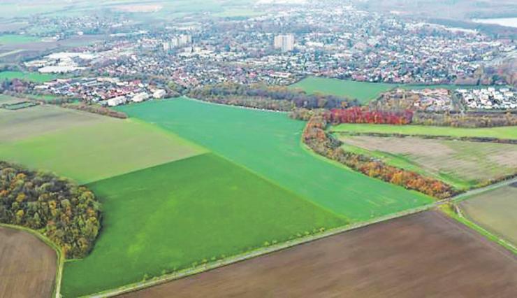 Auf diesem Gelände soll der Campus entstehen. Bild: Erftstadt