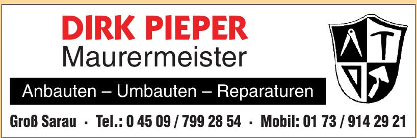 Dirk Pieper Maurermeister