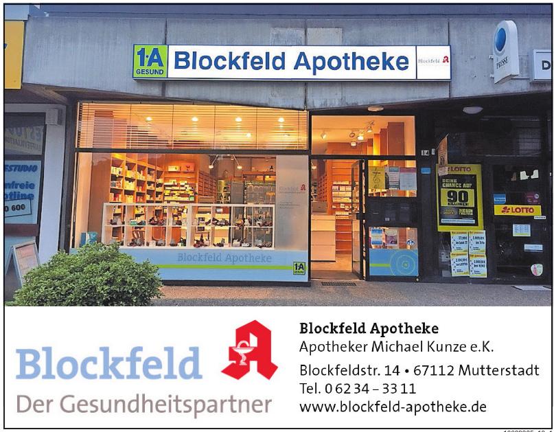 Blockfeld Apotheke - Apotheker Michael Kunze e. K.