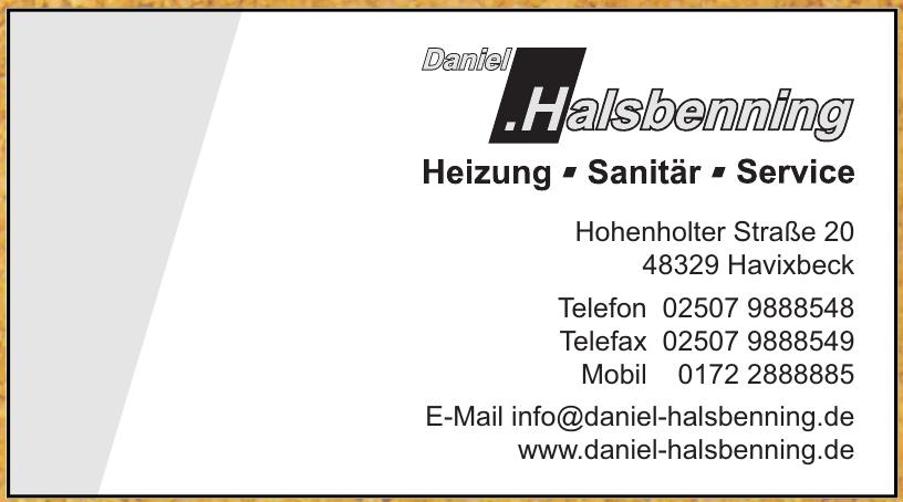 Daniel Halsbenning