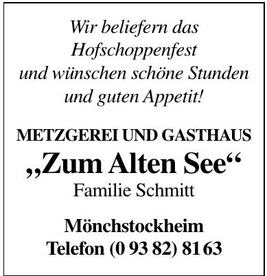 """""""Zum Alten See"""""""