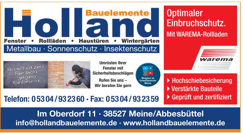 Bauelemente Holland