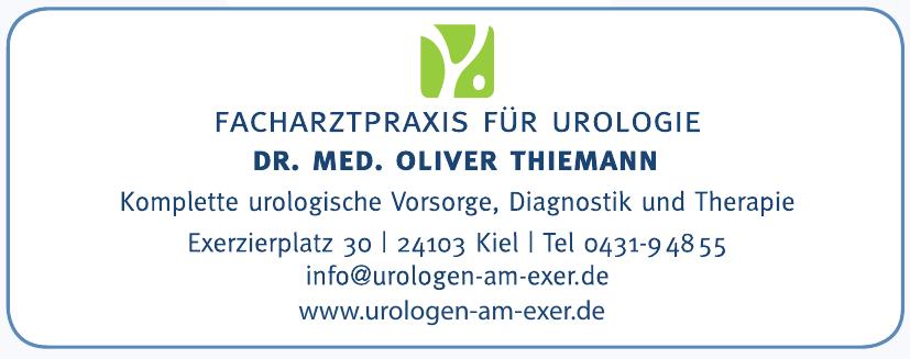 Dr. med. Oliver Thiemann