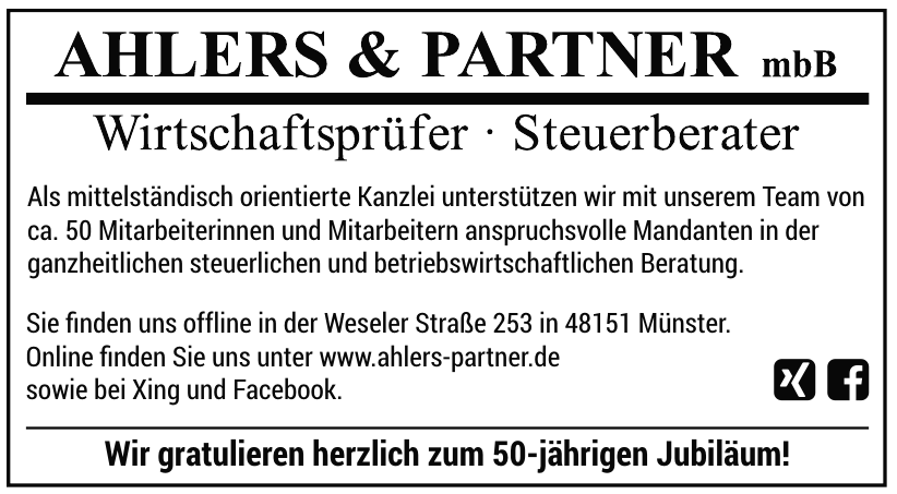 Ahlers & Partner mbB