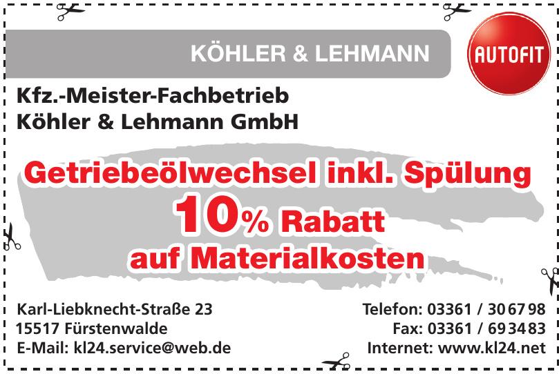 Köhler & Lehmann Autofit