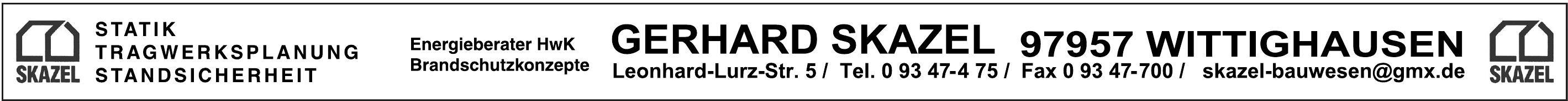 Gerhard Skazel