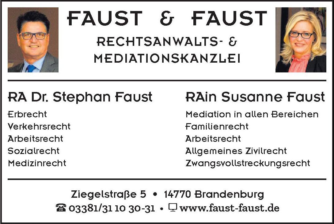 Faust & Faust Rechtsanwalts- & Mediationskanzlei