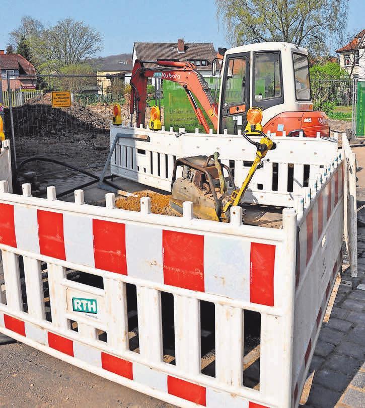 Derzeit gehören Baustellen in Gehrden zum Stadtbild. Foto: Archiv