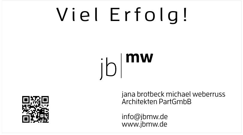 jana brotbeck michael weberruss Architekten PartGmbB