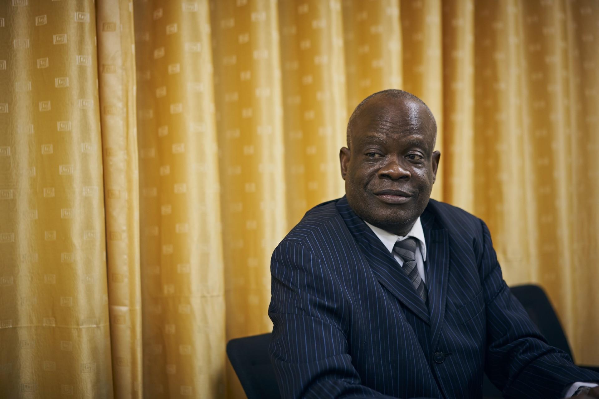 Musongela Kiluka, Leiter der Bereiche<div>Verträge, Verwaltung und Finanzen, SNEL.</div>